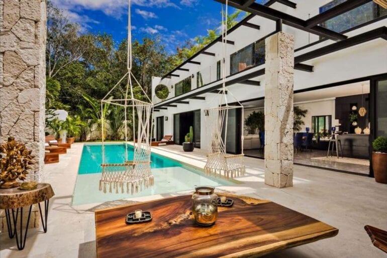 luxury airbnb villa in tulum