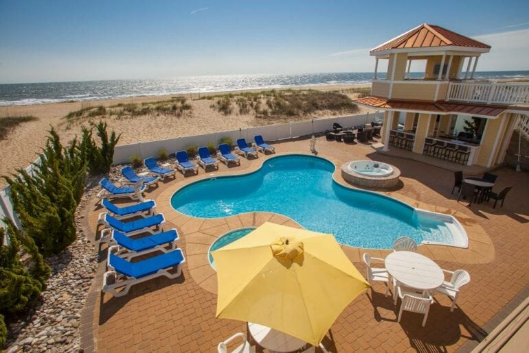 luxury oceanfront home airbnb virginia beach
