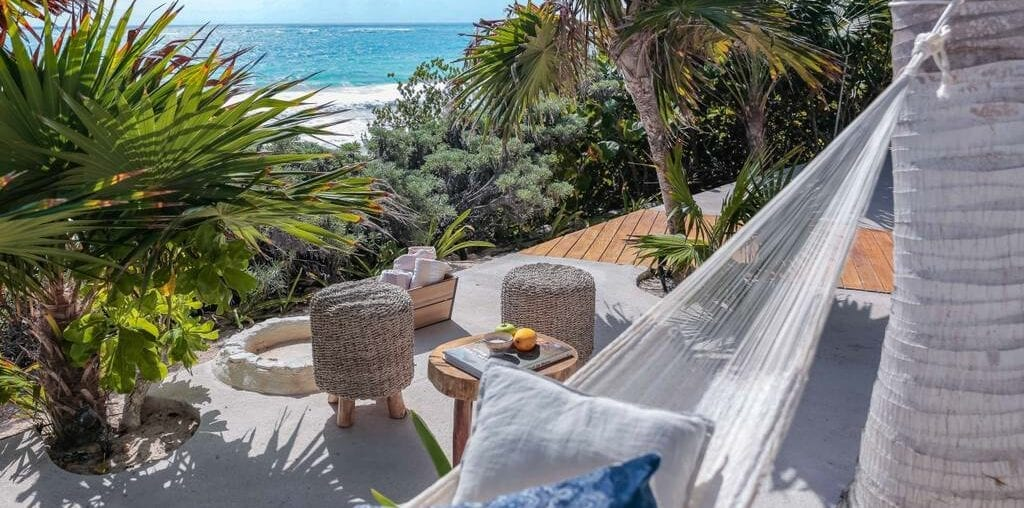 beach home with fresh water lagoon airbnb tulum