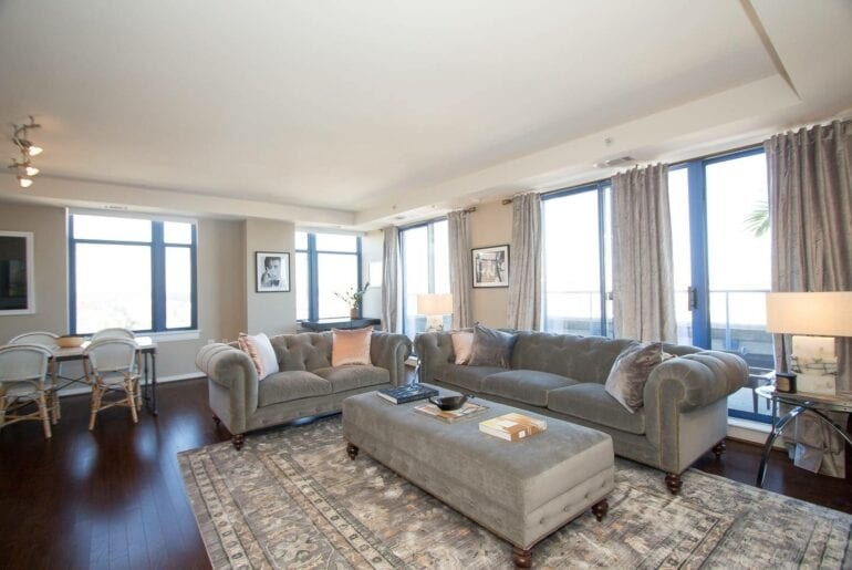 penthouse apartment near dupont circle