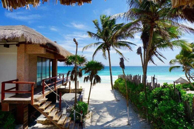 beautiful tulum airbnb property