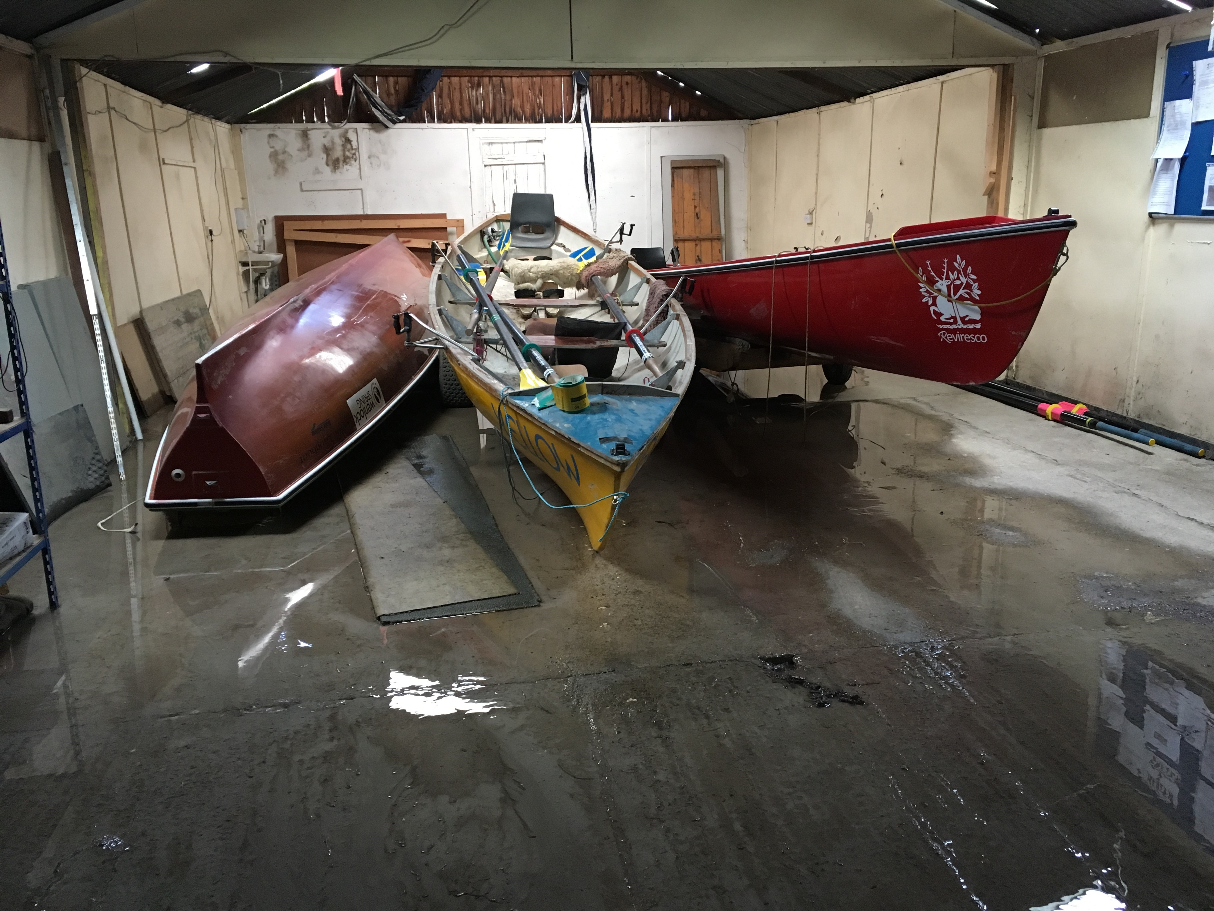 Boat Cleaning for Montford (The North Pole) Challenge Row 2019