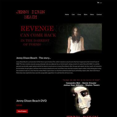 Jenny Dixon Beach - The Movie