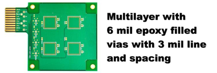 Multi layer PCB