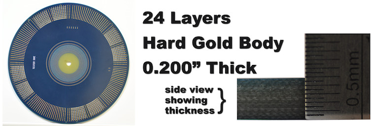 24 Layers Hard Gold