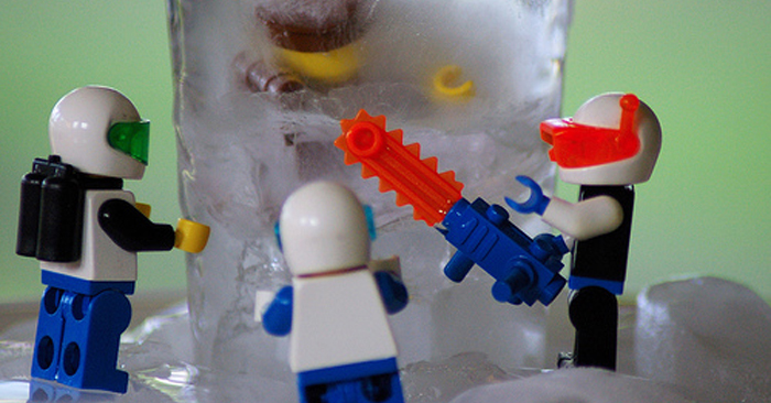 Summer Youth Group Game: Frozen Legos