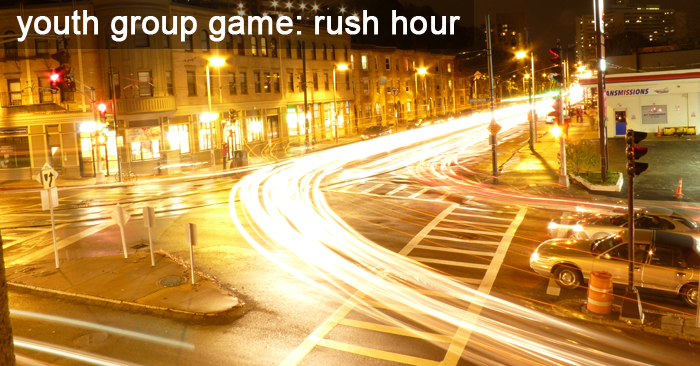 Youth Group Game – Rush Hour