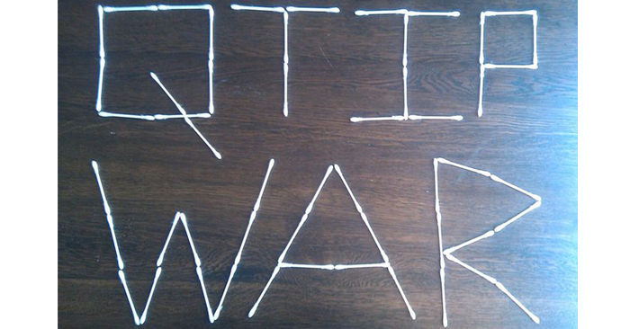 Youth Group Game – Q-Tip War [Video]