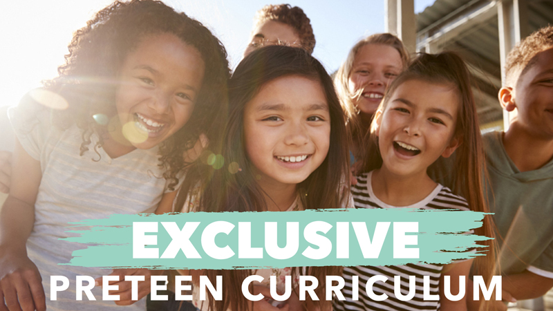 Get one year of new and exclusive preteen ministry curriculum designed to help 4th-6th graders explore their faith and wholeheartedly follow Jesus.