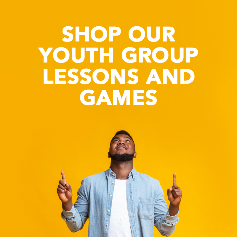 youth group lessons and games - shop