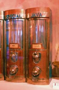 Coffee bean dispenser, Czech Republic