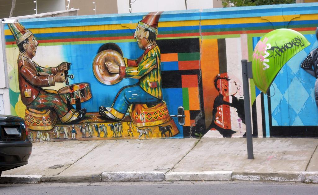 Sao Paulo Street Art Mural