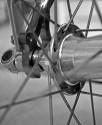 Road bike rear axle