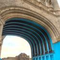 Tower Bridge, arch, London