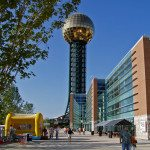 Sunsphere - Worlds Fair Park in Knoxville