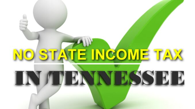 no state income tax in Tennessee