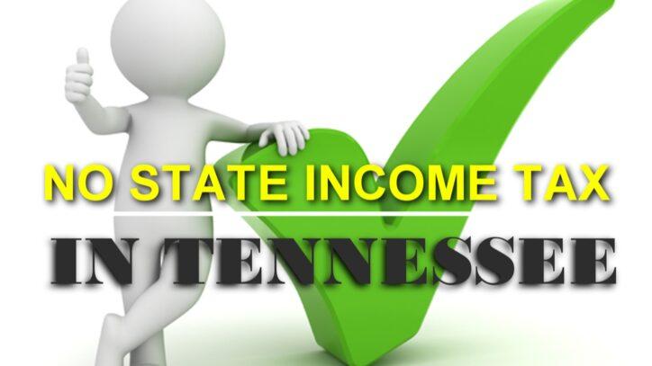 NO STATE INCOME TAX