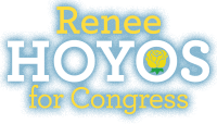 Renee Hoyos for Congress Logo