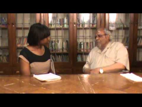 Brionna Garlington interview with Pastor Emeritus Rev  Wallace S Hartsfield Sr.