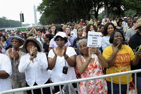 ANOTHER MARCH ON WASHINGTON REMEMBERS MLK'S DREAM