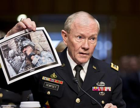 DEMPSEY: SYRIAN REBELS WOULDN'T BACK US INTERESTS