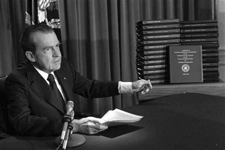 NIXON TAPES REVEAL PRIVATE TALK WITH SOVIET LEADER