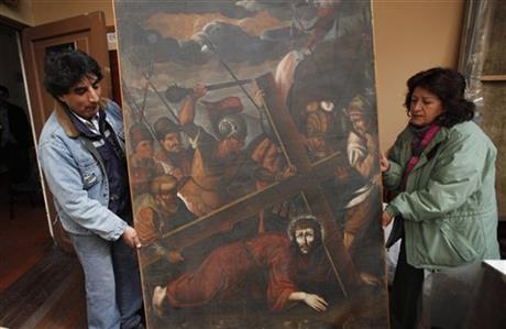 RURAL ANDEAN CHURCHES PLAGUED BY SACRED ART THEFTS