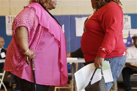 OBESITY VERY HIGH IN 13 STATES; MANY IN THE SOUTH