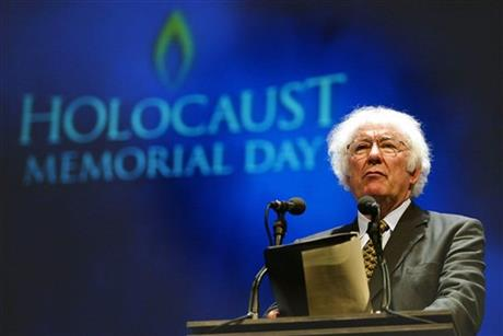 IRISH POET NOBEL WINNER SEAMUS HEANEY DIES AT 74