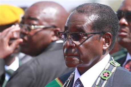 ZIMBABWE'S PRESIDENT: NO GOING BACK ON POLL RESULT