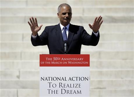 HOLDER: I WOULDN'T BE AG WITHOUT 1963 MARCHERS
