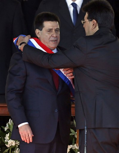PARAGUAY'S NEW PRESIDENT WAS TARGETED BY THE DEA