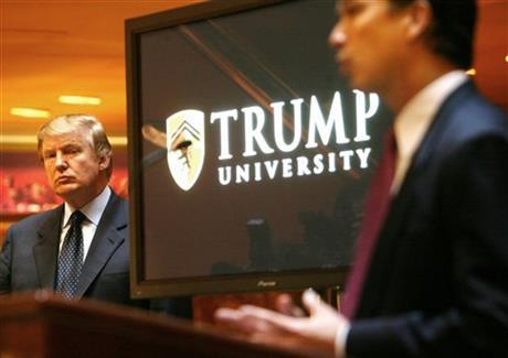 NY AG SUES TRUMP, 'TRUMP UNIVERSITY,' CLAIMS FRAUD
