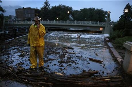 2 DEAD AS FLASH FLOODING HITS PARTS OF COLO.
