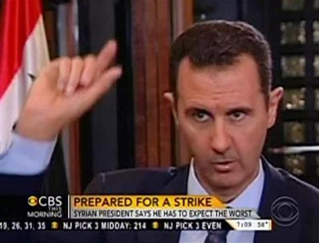 ASSAD: 'EXPECT EVERYTHING' IN RESPONSE TO ATTACK