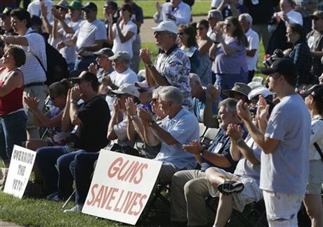 MO. LAWMAKERS DECIDING VETO OVERRIDE ON GUN BILL