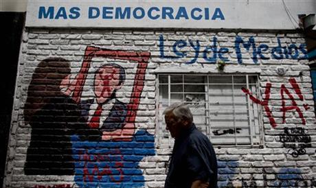 ARGENTINE SUPREME COURT APPROVES TV MEDIA LIMITS