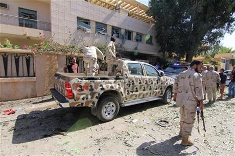 LIBYA PM LASHES OUT AT MILITIAS AFTER ABDUCTION