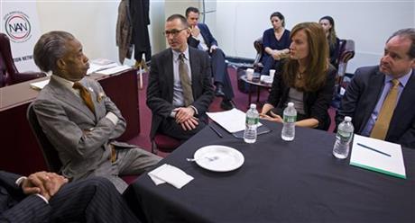 SHARPTON, BARNEYS NY CEO DISCUSS RACIAL PROFILING
