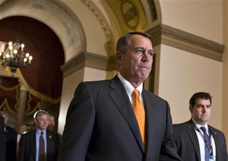BOEHNER'S JAM: CAUCUS LOVES BUT WON'T FOLLOW HIM