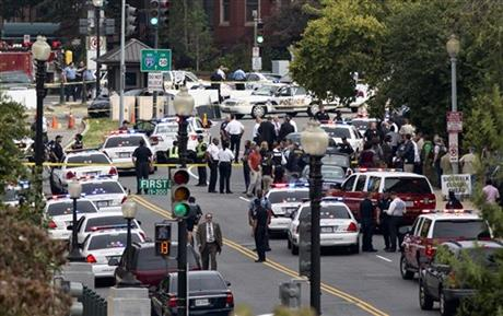 POLICE SHOOT DRIVER OUTSIDE CAPITOL AFTER CHASE