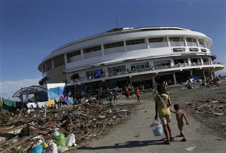 Domed refuge now cauldron of misery for survivors