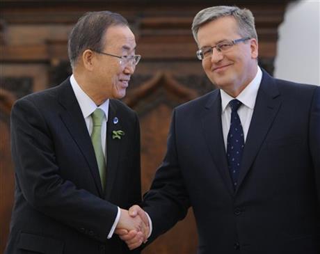 UN chief says current climate pledges insufficient