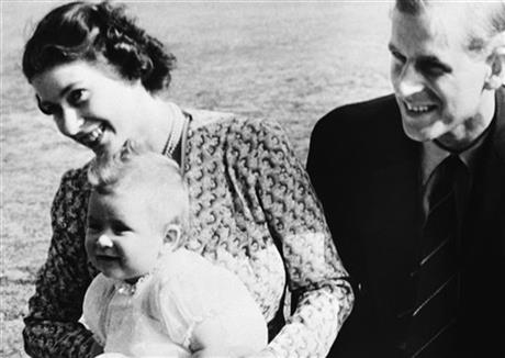 AP PHOTOS: Prince Charles over the years