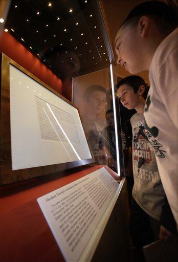 How kids helped buy a copy of Gettysburg Address