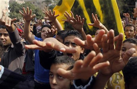 Islamists protest in Egypt over detained women