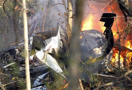 NTSB: Oklahoma senator's son noted engine trouble