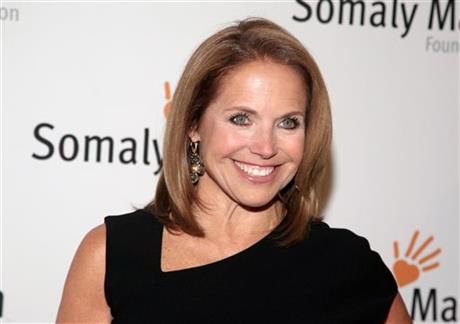 Katie Couric to anchor news program for Yahoo