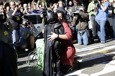 Quotes about 5-year-old 'Batkid' in San Francisco