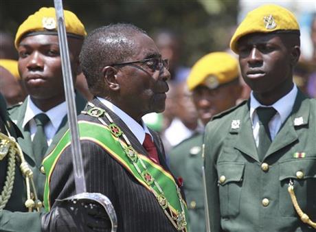 Zimbabwe's president: I'm no British clone